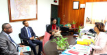 Une délégation de la République d'Haïti à la Mairie
