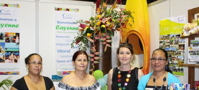 L'Office de Tourisme de Cayenne au Salon du Tourisme