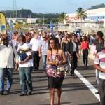 Inauguration de l'échangeur de Balata