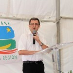 Inauguration de l'échangeur de Balata - Gilles MORVAN Directeur Adjoint de la DEAL