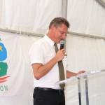 Inauguration de l'échangeur de Balata - Eric Spitz Préfet de Guyane