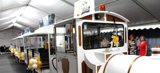 Inauguration de KOATI le petit train touristique