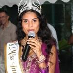 Joanna Soudine-Palton Miss India Guyane 2014