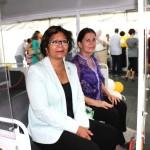 Le Maire de Cayenne et Madame Dominique BERTONI, déléguée au Tourisme