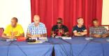 Rencontre du collectif «Tròp Violans», à l'Hôtel de Ville