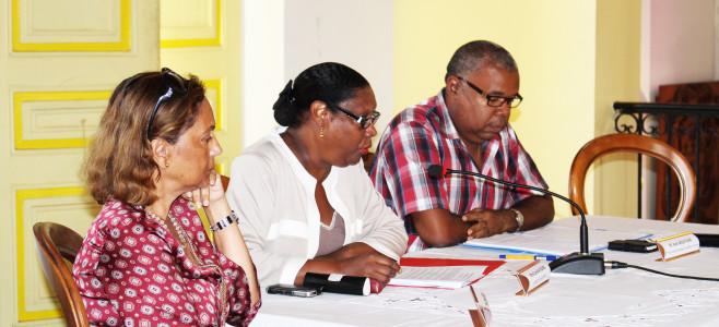 Conférence de presse «  Application de la réforme gouvernementale des rythmes scolaires à Cayenne »
