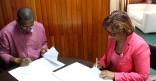Signature de la convention de partenariat du Tour de Guyane 2014