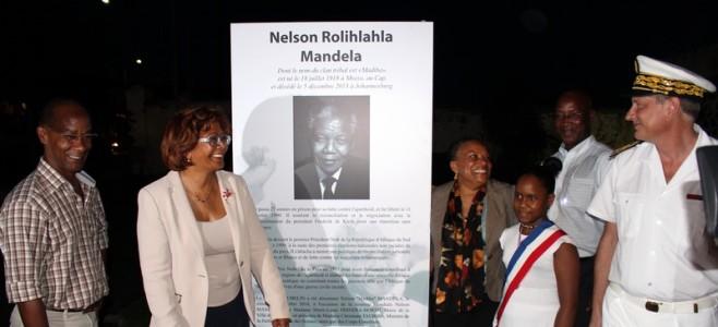 Cérémonie de dénomination : le boulevard Jubelin prend le nom de Nelson Madiba Mandela