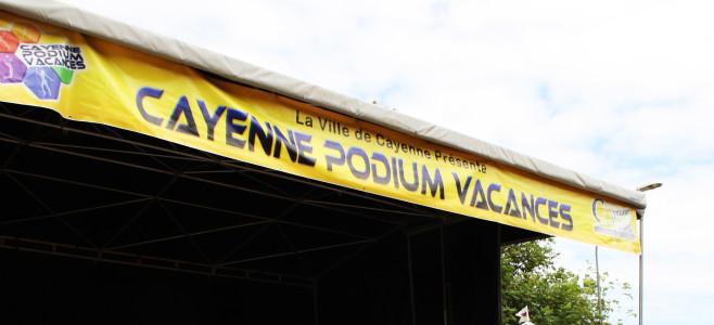 Mercredi 6 Août 2014 , le Cayenne Podium Vacance à la cité PLOËRMEL