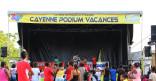 Mercredi 13 Août, le Cayenne Podium Vacance au quartier de Suzini