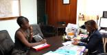 Visite du consul honoraire du Guyana