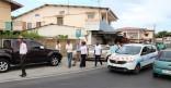 Aménagements dans les faubourgs Nord de Cayenne : l'équipe municipale en visite de chantiers
