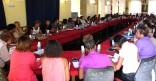 Réunion avec les directeurs des écoles de Cayenne à l'occasion de la rentrée scolaire 2014-2015