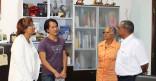 Visite de VietZoukeur à la Mairie de Cayenne