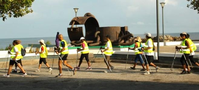Marche Nordique pour les séniors de la Ville de Cayenne