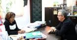 Visite du nouveau Directeur de Guyane 1èr