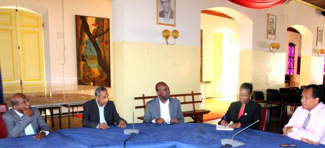 Une délégation de la République d'Haïti reçue à la Mairie