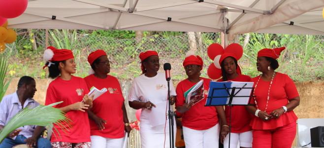 Chanté Noël au jardin d'enfants «La Colline aux Mille Fées»