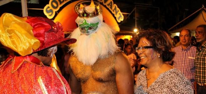 Cérémonie d'ouverture du Village Nana