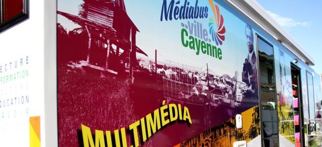 Présentation officielle du Médiabus de Cayenne