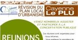 Réunions publiques de concertation dans le cadre de la révision du Plan Local d'Urbanisme (PLU) de la Ville