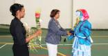 Jeudi 12 mars 2015, défilé de mode et de danse carnavalesque au centre pénitentiaire.