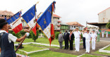 Cérémonie en mémoire des victimes civiles et militaires de la guerre d'Algérie et des combats en Tunisie et au Maroc.