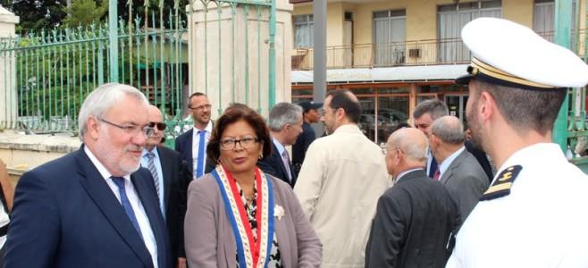 En visite en Guyane, Jean-Marc TODESCHINI le Secrétaire d'État chargé des anciens combattants et de la mémoire a rendu hommage à tous les morts pour la Patrie