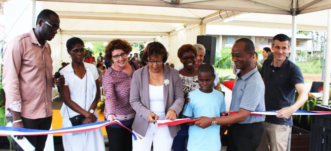 Inauguration de l'aménagement des berges Eau Lisette