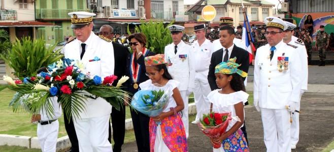 8 mai 1945 : commémoration en Guyane du 70ème anniversaire de l'Armistice