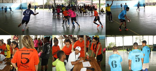 Futsal de la Prévention, 4ème édition : la population sensibilisée au thème de la santé