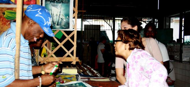 La Fête des Pères au Marché Central de Cayenne