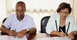 Signature de convention pour la Jetée du Vieux port de Cayenne
