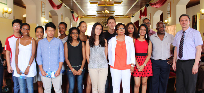 Mise à l'honneur des meilleurs bacheliers de Cayenne