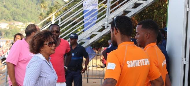 Clotûre du dispositif 2015 de surveillance des baignades à l'Anse Montabo