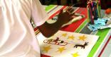 Un concours de dessin aux avants goûts de Noël