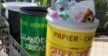 Le tri sélectif intégré à l'action de propreté urbaine, à Cayenne