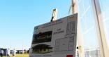 Pose de la première pierre des travaux de reconstruction de la Maison de Quartier Bonhomme