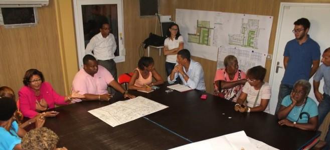 Point d'étape sur les opérations d'aménagement en cours au quartier Rénovation Urbaine