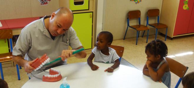 Action de prévention bucco dentaire au Jardin d'enfants