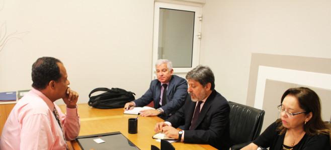 Visite de l'Ambassadeur du Brésil pour la France