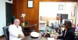 Visite et installation du nouveau préfet de région
