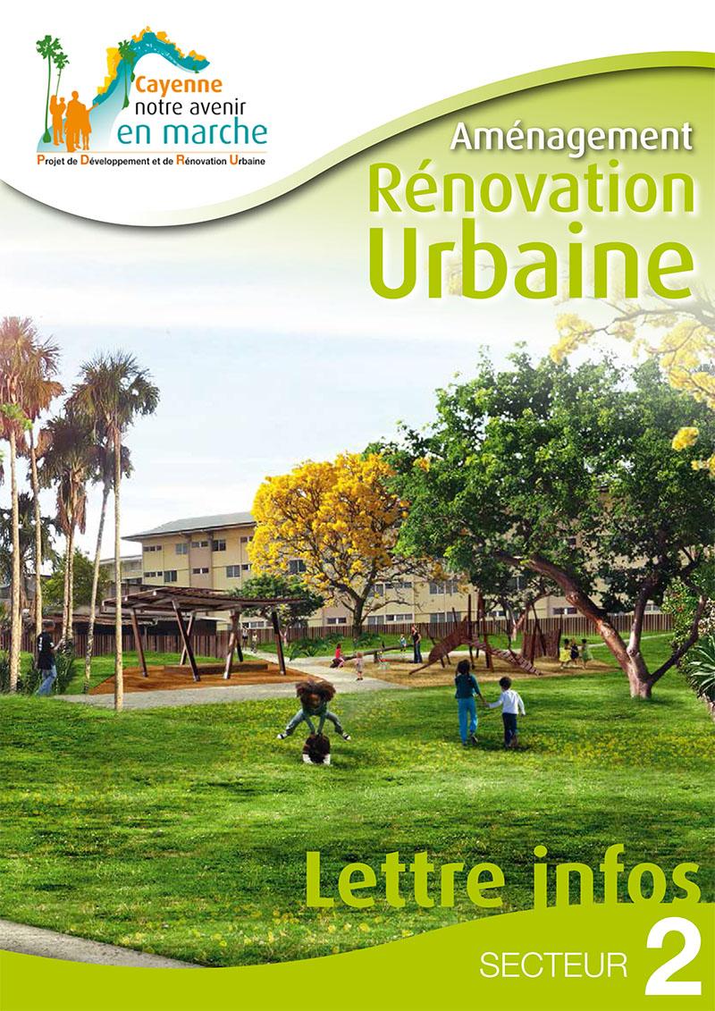 Aménagement renovation urbaine secteur 2