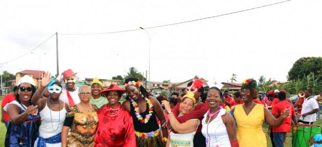 Le défilé Carnavalesque du Jardin d'Enfants