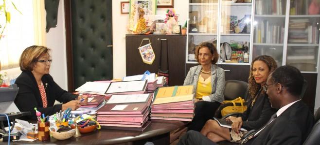 Le nouveau recteur de Guyane reçu à la Mairie