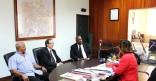 Le maire rencontre le nouveau Grand Maître de la GRANDE LOGE DE France
