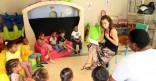 Sensibilisation autour du tri sélectif au Jardin d'Enfants