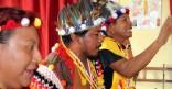 Vernissage Art amérindien au Jardin d'Enfants