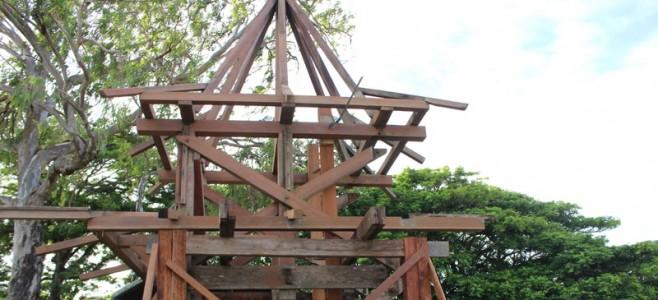Réhabilitation de la pagode