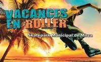 Roller au Skatepark de Mirza